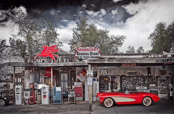 Route 66 & Vintage Americana