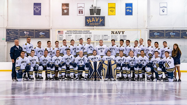 2018-2019 NAVY Men's Ice Hockey Team