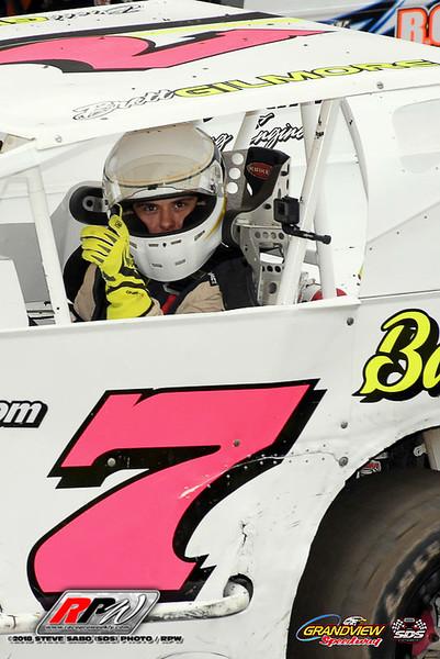 Grandview Speedway - 8/18/18 - Steve Sabo (SDS)