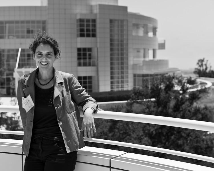 Giovanna Ceserani, Getty Research Institute, Los Angeles, June 2010