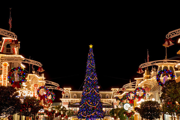 Christmas in Walt Disney World