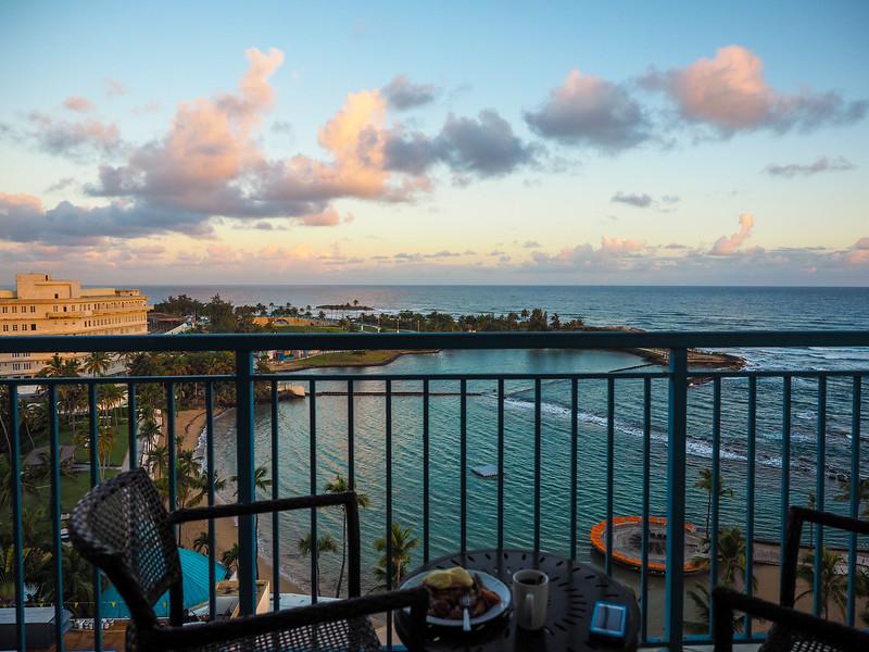 Sunrise at Caribe Hilton