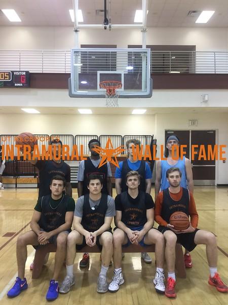 Spring 2018 Basketball Orange B Runner Up Alcoballics