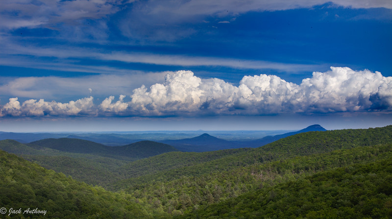 Mountain View from Richard Russell Scenic Highway, Ga.