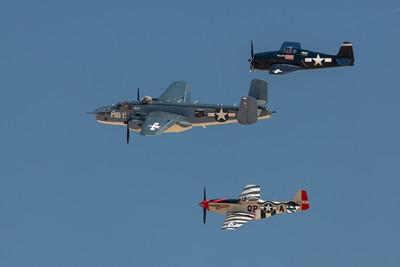 Commemorative Air Force WWII Pacific Battle Re-Enactment