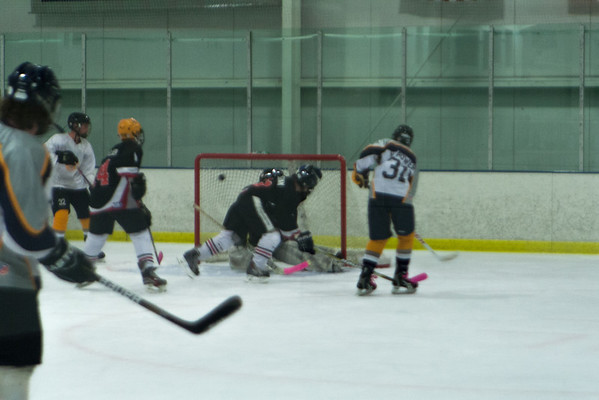 Philadelphia Revolution Black at Hatfield Ice Hawks Blue 10-5-2013