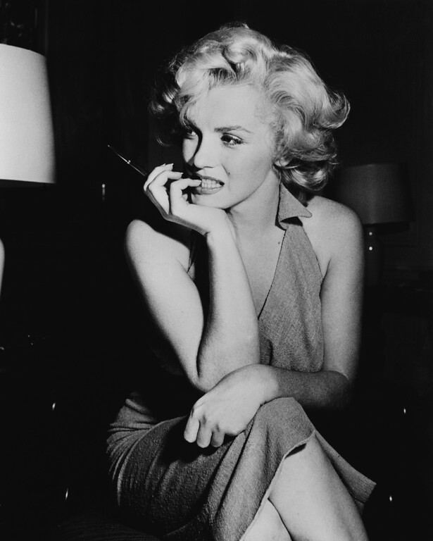 . American film star Marilyn Monroe (Norma Jean Mortenson or Norma Jean Baker, 1926 - 1962).  (Photo by Keystone Features/Getty Images)