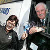 Seamus Turley and lauren Dillon pictured at the launch of the 2006 Ulsterbus Day Tours from Newry. 06W22N31