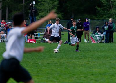 Game Set seven: Vashon Island High School Boys Varsity Soccer v Charles Wright - Nisqually League Championship