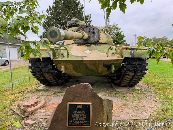 VFW Post 202 - Holley, NY - M60A0