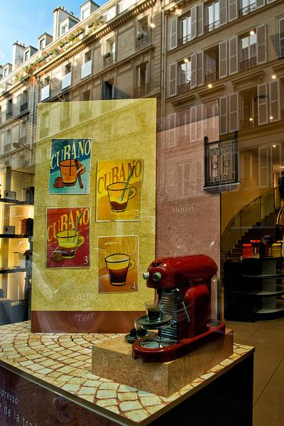 Dale's favorite coffee store - Nespresso