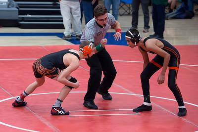 013115 Erie Wrestling vs Lincoln High Tourn