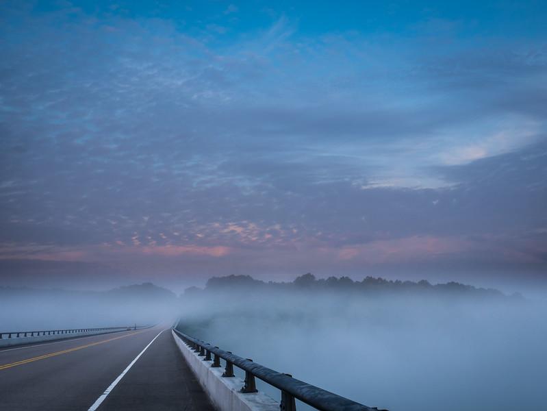 Bridge into Fog