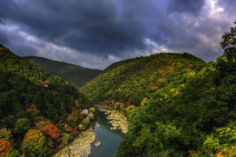 Arashiyama valley