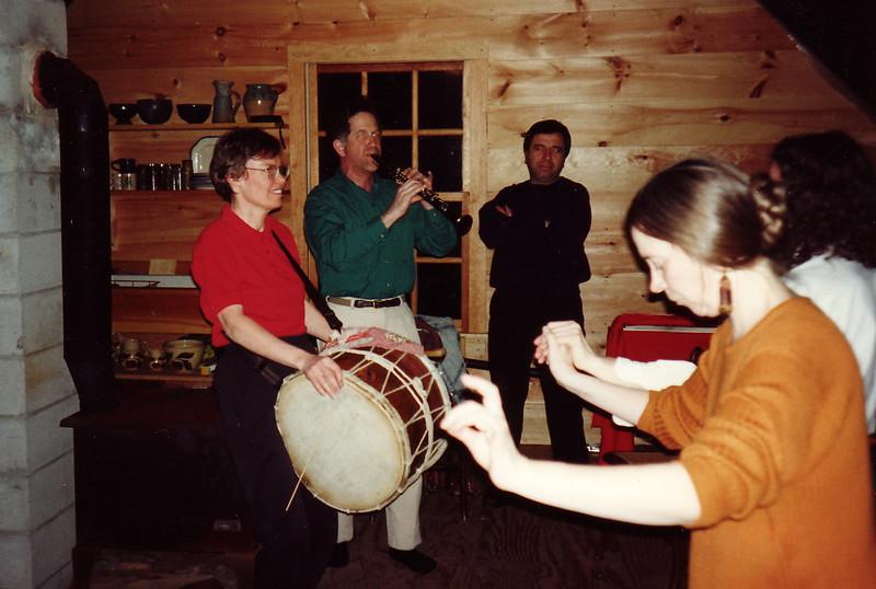 In 1995 some of us attended Balkan music jams in Becky Ashenden's attic.  Delightful!
