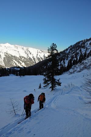 Skitourenwochenende Mörsbachhütte (29.01-30.01.2011)