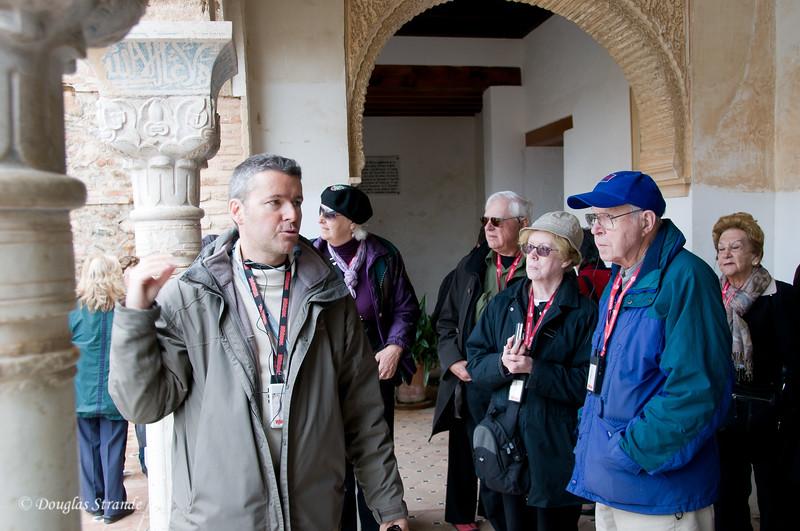 Fri 3/11 at La Alhambra in Grenada: the Alhambra guide