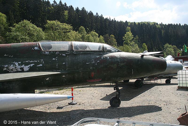 MiG 21 trainer.