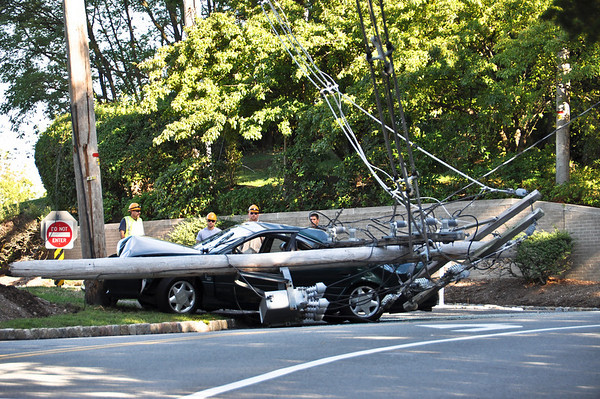 8-27-10 Franklin Lakes, NJ Motor Vehicle Accident: Old Mill Road & Lawlins Road