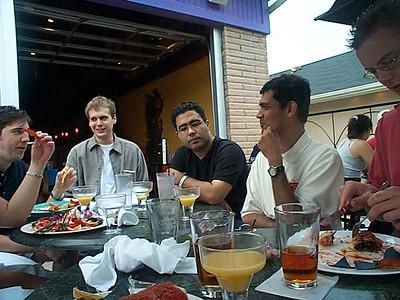 Burrito Art TGIF July 12 2002