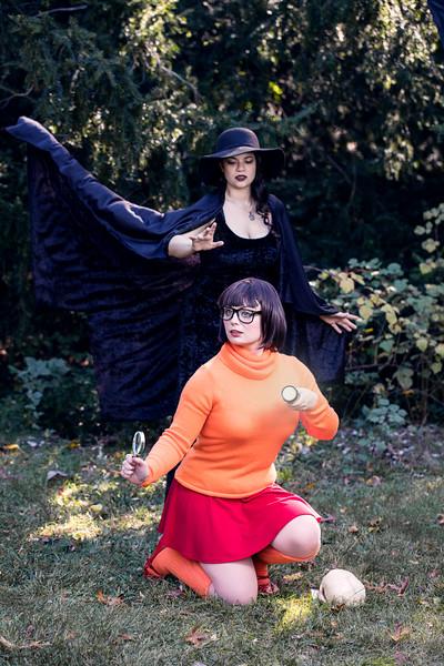 Lauren and Sinead-Halloween Shoot 10 23 2016