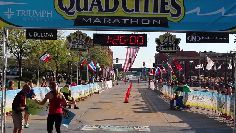 Quad Cities Marathon 1/2 Marathon Women's Winner