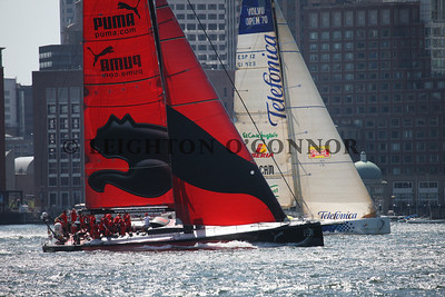 Volvo Ocean Race - Boston Pro-Am Race