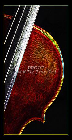 Violin Fine art Photography Dark Drawings