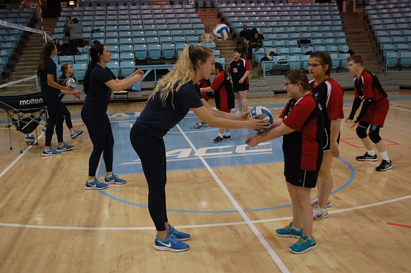2019 UNC Volleyball Clinic