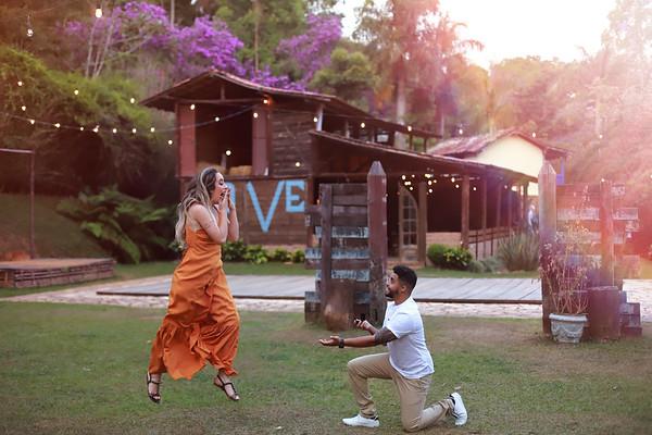 Pré Casamento no Bouganville Farm de Bárbara e Glaudison