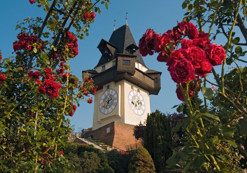 Uhrturm (Clock Tower), Schlossberg, Graz, Austria