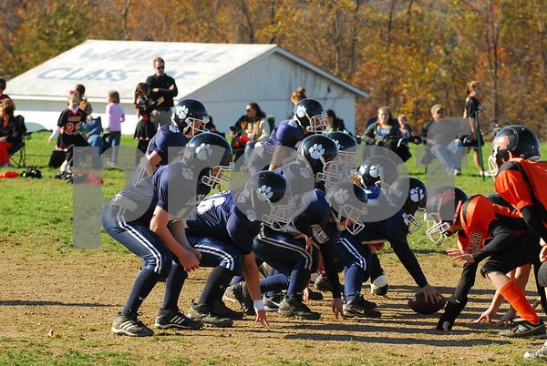 Wallkill Fighting Panthers vs Marlboro Black - Football - 10-26-08