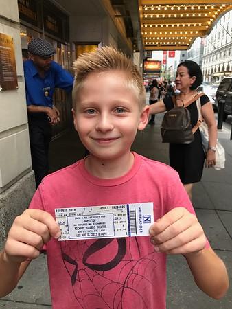 NYC Hamilton Richard Rogers Theater