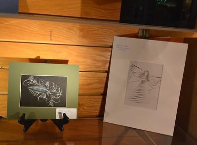 Birmingham Calligraphy Guild Exhibit, August 2013