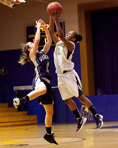 Coyle & Cassidy at St Mary's girls basketball