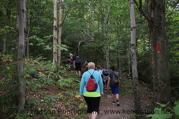 2018-09-19 Middle School Homeroom Hike