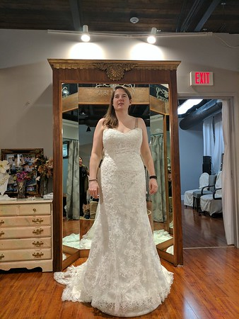 2017.02.18 - Kate Dress Shopping