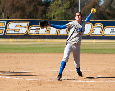 CSUSB Softball at UCSD