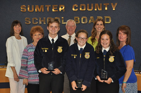 2019 - Sumter US Presidential Academic and CTE Scholar Recognition