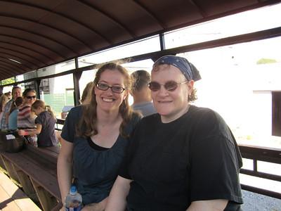Steam Train in Walkersville June 30, 2012