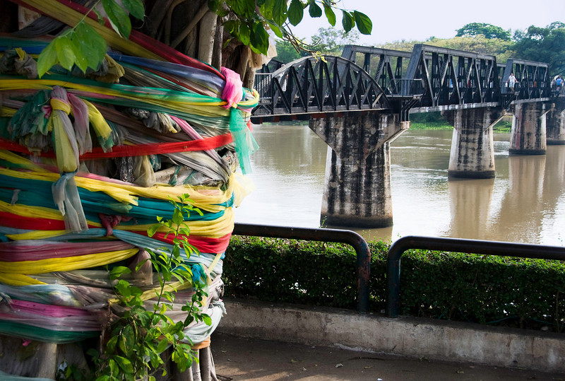 Bridge on the River Kwai - most of it is the original from WWII