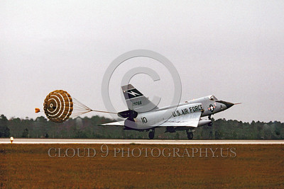 Air National Guard Convair F-106 Delta Dart Interceptor Parachute Airplane Pictures