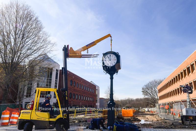 Clock Installation