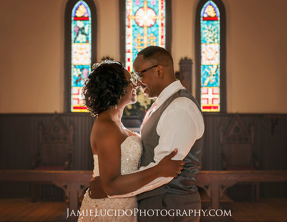 Intimate Charlotte Wedding: St. Mary's Chapel