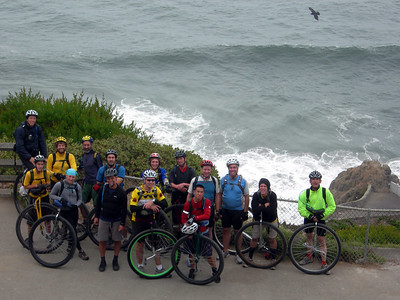 4th Annual Unicycle Tour of San Francisco
