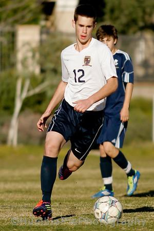 20120203 - Varsity Boys Soccer v Hillcrest GH