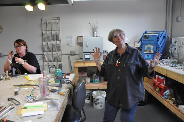 Visiting Artist @ West Michigan Glass Art Center