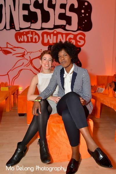 Julie Nigro and Racine Davis