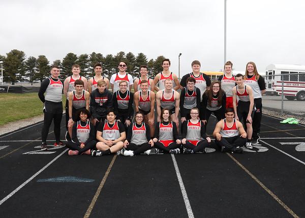 SNHS Track Team 2018