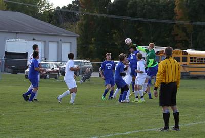 Boys varsity Soccer 10/10/2014 Ravenna